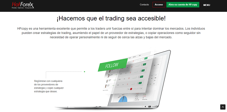 Si no sabes hacer Trading haz Copy Trading